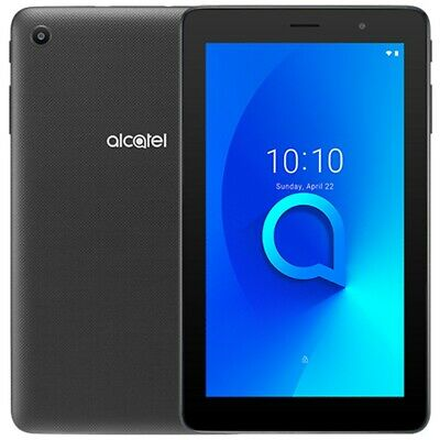 Alcatel 1T7 4G LTE 7 Android Tablet 16GB FACTORY UNLOCKED Black New