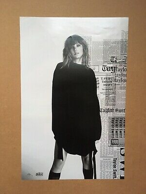 Taylor Swift Reputation Promo Double Poster Two Sided