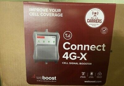 weBoost 471104 Connect 4G-X Indoor Cell Phone Signal Booster - READ