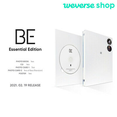 BTS BE Essential Edition CD-Photobook-Photocard-Etc-Weverse shop Gift-Tracking
