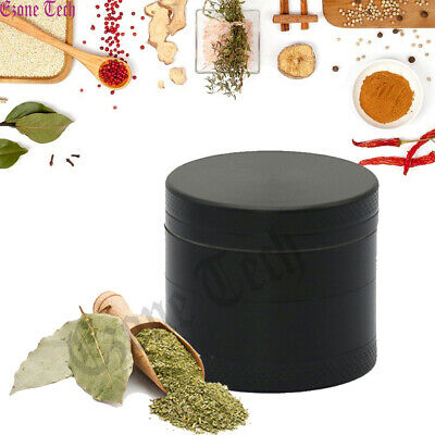1-5 Tobacco Herb Grinder Spice 4 Layers Metal Chromium Alloy Smoke Crusher NEW
