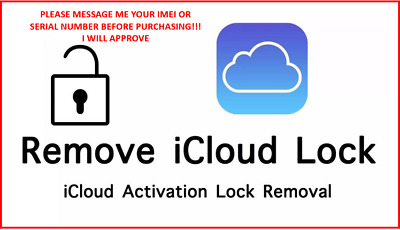 APPLE ID FMI ACTIVATION LOCKICLOUD UNLOCK REMOVAL IPHONE IPAD IWATCH IN STORE