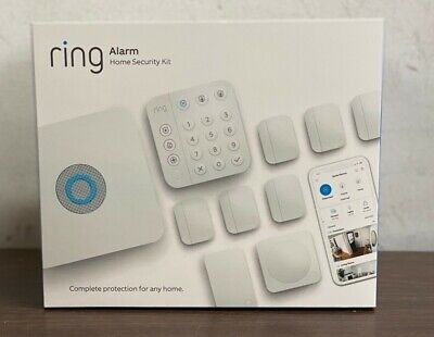 Ring Alarm Home Security 10 Pieces Kit 2nd Gen For USA - Canada ONLY