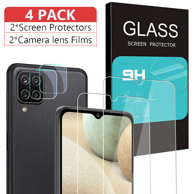 For Samsung A12 A32 A52 A51 5G HD Tempered Glass Screen Protector-Lens Protector