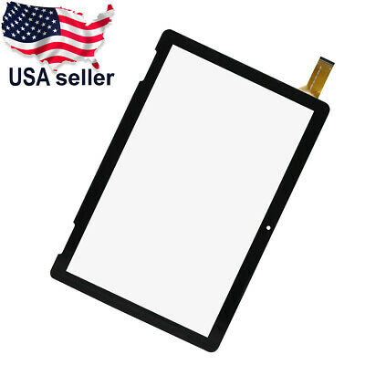 Touch Screen Digitizer Glass For Onn 10-1 Tablet 2APUQW1027 100011886