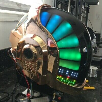 Daft Punk LED RGB Kit - Guy Manuel Helmet - Rechargeable Battery Pack Included