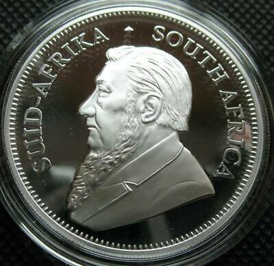 2018 South Africa 1 oz Silver Krugerrand BU  Brilliant Uncirculated in Capsule