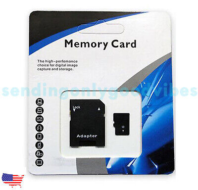 64128256512GB1TB Universal Micro SD SDXC TF Flash Memory Card Class 10
