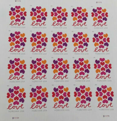 600 USPS Forever Stamps Love Heart Blossoms Stamps