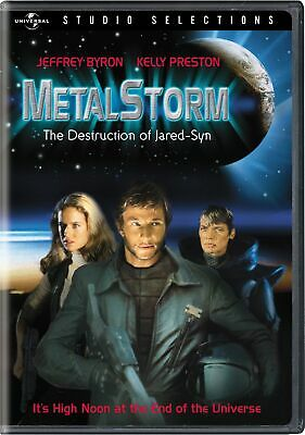 Metalstorm - The Destruction of Jared-Syn DVD Mike Preston NEW