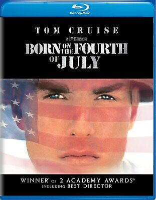 Born On the Fourth of July Blu-ray Tom Cruise NEW