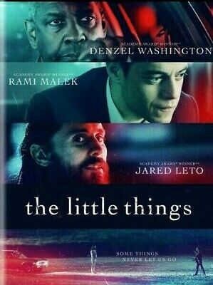 The Little ThingsDVD2021 NEWDenzel Washington Rami Malek FREE SHIPPING