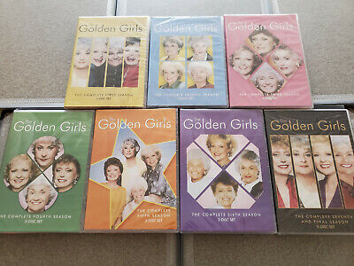 Golden Girls Seasons 1-7 Complete Series DVD New - Sealed Free Shipping