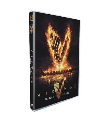 Vikings Season 6 Vol- 2 DVD 20213-Disc Set Brand New - Sealed Free Shipping