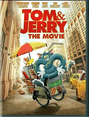 Tom and Jerry DVD 2021 NEW Comedy Family Anim PRE-ORDER SHIPS 05182021