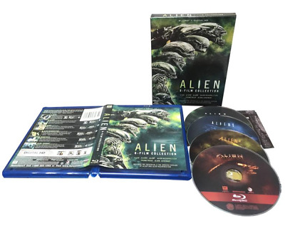 Alien 6-Film Collection New Blu-ray Boxed Set Digitally Mastered