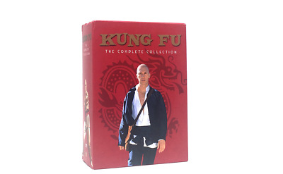 Kung Fu The Complete Series Collection Seasons 1 2 3 DVD 16-Disc Box Set