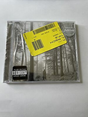 🍎 Taylor Swift - Folklore Album CD  Brand New Sealed‼- A7