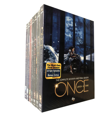 Once Upon A Time Complete Series Seasons 1-7 DVD 35-Disc New Free Shipping US!