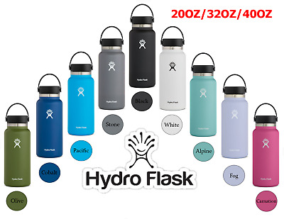NEW Hydro Flask Water Bottle Wide Mouth 20oz  32oz  40oz - FREE SHIPPING