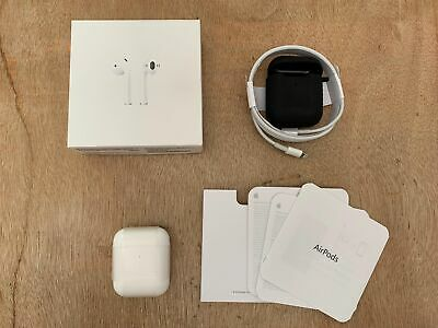 A pple AirPods 2nd Generation Bluetooth Earbuds with Wireless Charging Case-FREE