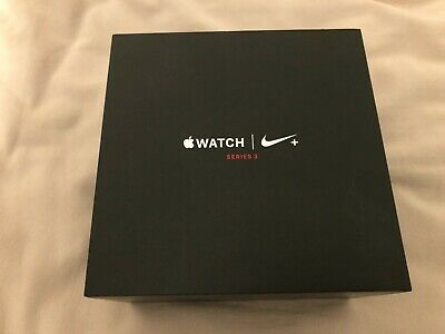 Retail Box for Apple Watch Nike Plus Series 3 Empty No Device