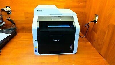 BROTHER MFC-9340CDW ALL-IN-ONE WIRELESS COLOR LASER PRINTER COPIER SCANNER FAX