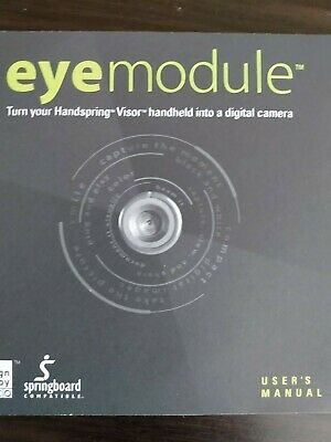Eyemodule for handspring springboard compatible camera attachment