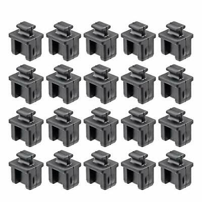 TOPPROS Pack of 20 SFP Silicone Protectors Cap Port Cover Anti Dust 0-55 x 0-