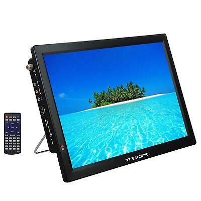 TRX-14D PORTABLE RECHARGEABLE 14 LED DIGITAL TV 12V ACDC HDMI USB SD REMOTE