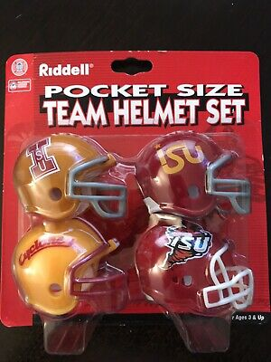 Riddell Iowa State Cyclones Pocket Pro Helmet College Football Conference Set