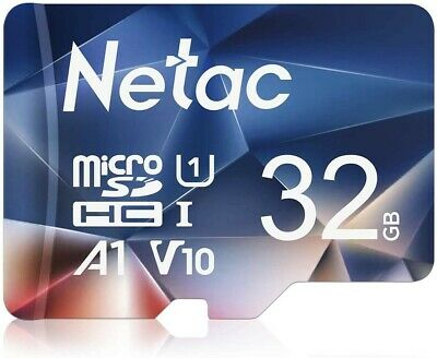 Netac 32GB Micro SD Card Class10 SDHC Memory Card TF Card for Smartphones lot
