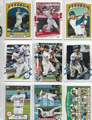 Mookie Betts - 11 Card lot - Free Shipping