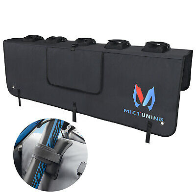 MICTUNING 50 Curved Tailgate Pad Pickup Car Truck Bed Protector Cover Bike Rack