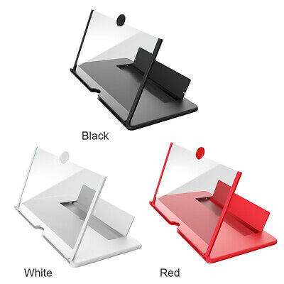 12 Smartphone Screen Magnifier 3D HD Video Mobile Phone Amplifier Folding Stand