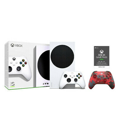 Xbox Series S 512GB SSD - Daystrike Camo Controller - Game Pass Ultimate 1 Month