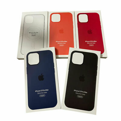 for Apple Silicone Soft Case wMag Safe fit for iPhone 12 iPhone 12 Pro Max Mini