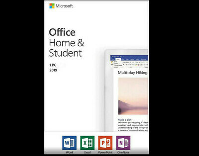 Home and student 2019 for PC- Classic 2019 versions of Word Excel PowerPoint