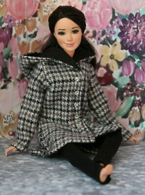 №180 Handmade Doll Clothes- Coat and Leggings for Dolls-