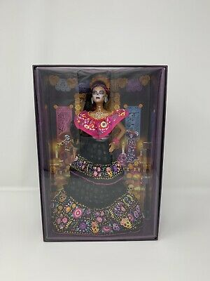 Barbie 2021 Dia De Los Muertos Day of The Dead Doll Free Same Day Shipping