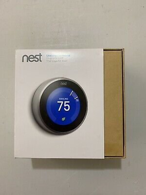 Google T3007ES Nest 3rd Gen- Learning Thermostat - Stainless Steel