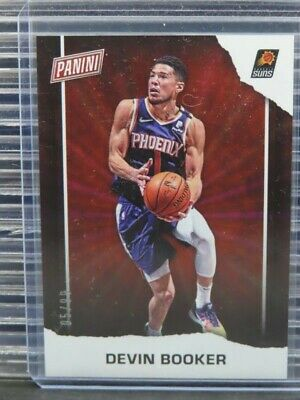 2020-21 Panini Fathers Day Devin Booker Rainbow Spokes 0599 Suns Y261