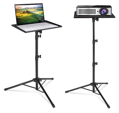 Projector Laptop Tripod Stand Floor Stand Adjustable Height 23 - 63 In Portable