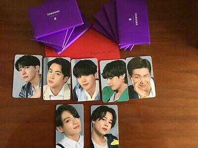 BTS PHOTOCARD SAMSUNG GALAXY SPECIAL EVENT SEALED