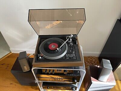 Dual 1257 Automatic Belt Drive Turntable - Works