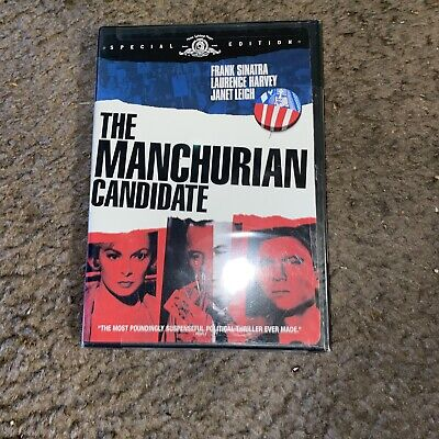 The Manchurian Candidate Special Edition DVD Frank Sinatra Laurence Harvey New