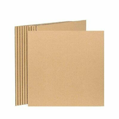 50 Pack Corrugated Cardboard Sheets Inserts for Packing Mailing 12-25 x 12-25