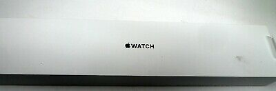 EMPTY BOX  Apple Watch 38mm Case Space Gray Aluminum Sport Band Black BOX ONLY