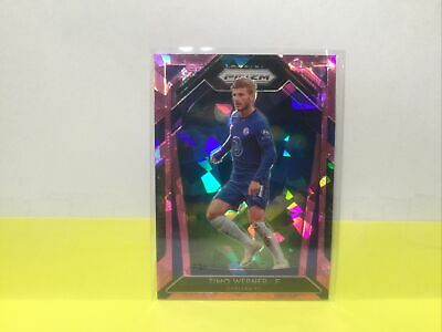 2020-21 Panini Prizm Premier League Timo Werner 255 Rookie Ice  Chelsea