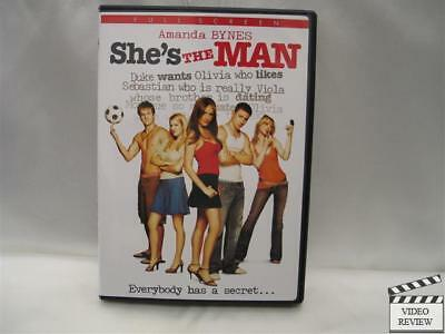 Shes the Man  DVD  Fullscreen  Amanda Bynes